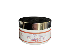 Averil Rose Geranium Night Cream (Combination to Dry Skin and Hair)