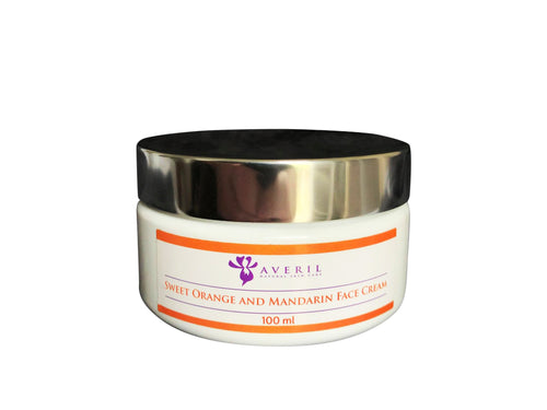 Sweet Orange and Mandarin Face Cream (Normal to Oily Skin)