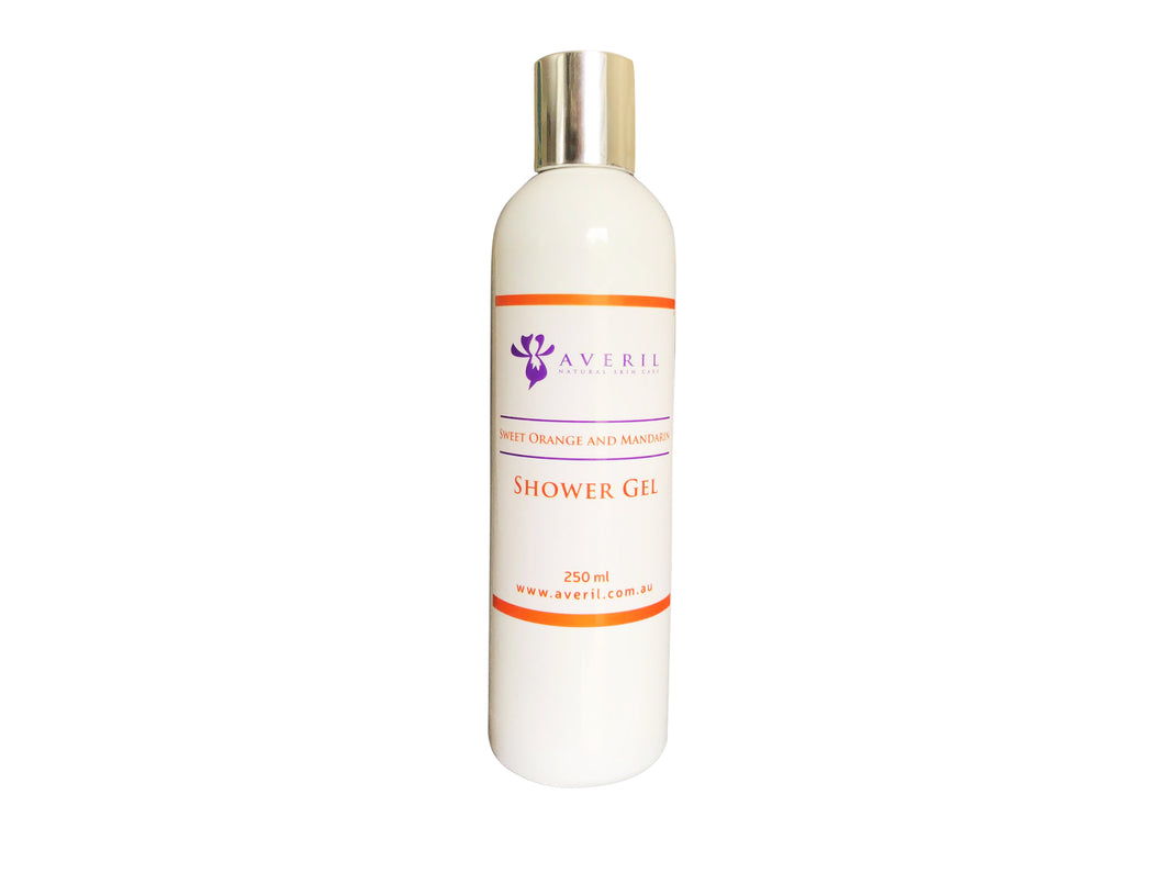 Averil Sweet Orange and Mandarin Shower Gel (Normal to Oily Skin)