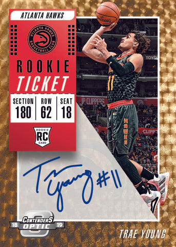 2018-19 Panini Contenders Optic Basketball 10-Box Case PYT #4