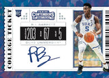 2019-20 Panini Contenders Draft Picks Basketball 6-Box Half-Case PYT #3