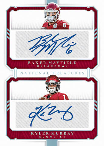 2019 Panini National Treasures Collegiate Football PYT #1 ***RELEASES 8/21***