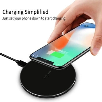 Wireless phone charger iPhone Samsung s7 s8