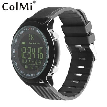 Waterproof iPhone & Android compatible smart watch