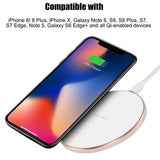 Wireless phone charger iPhone Samsung s7 s8 - Alpha Tech  Central