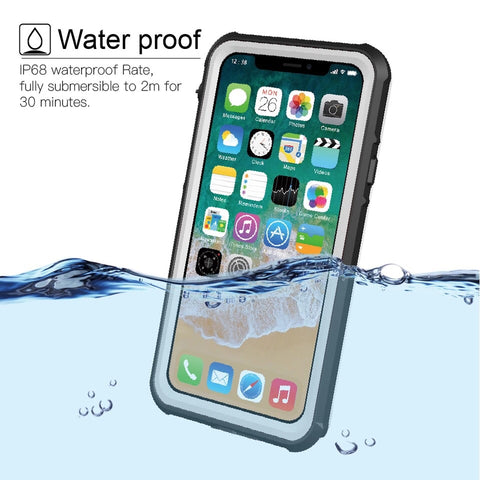 Armor Life Water Resistant Shock Proof Silicon Aluminum Metal Case for Any iPhone - Alpha Tech  Central