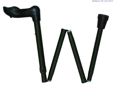 Folding Walking Sticks - Arthritis Grip