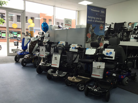 Mobility Scooter Showroom