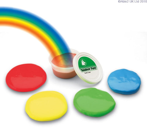 Rainbow Putty Medium Green (57g)