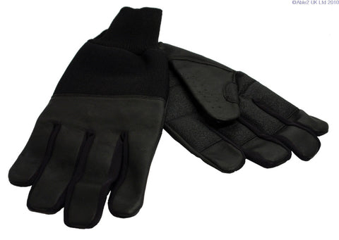 Revara Sports Leather Summer Glove Black