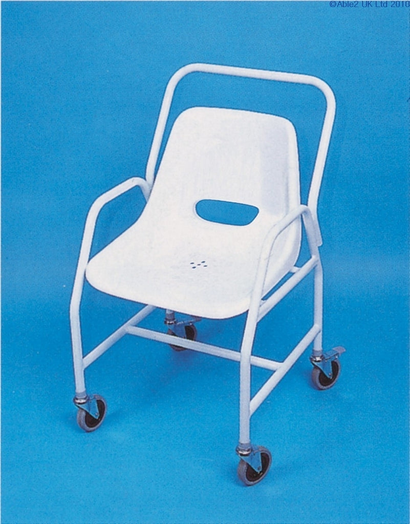 Mobile Shower Chair Adjustable Height