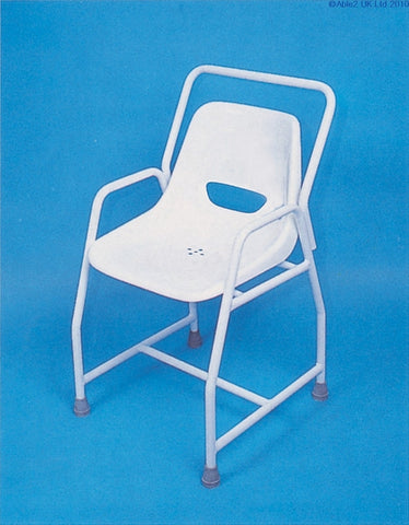 Stationary Shower chair -Adjustable Height