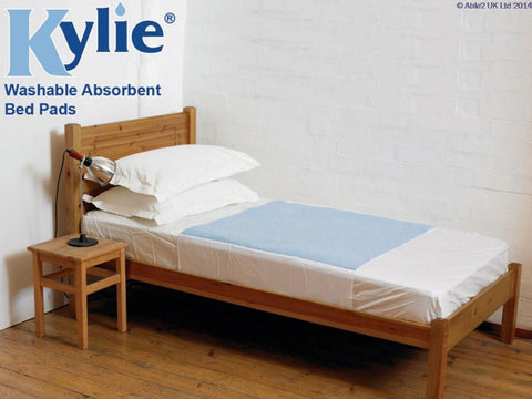 Kylie Bed Pad - 91 x 70cm - Blue