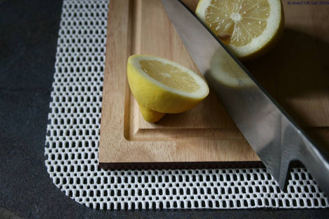 StayPut Chopping Board Safety Mats - 34 x 28cm - Almond