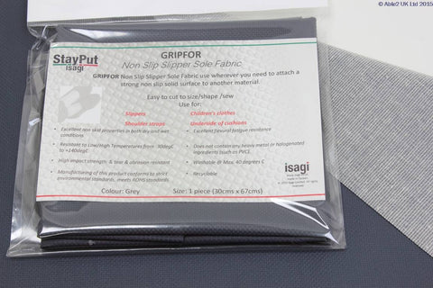 StayPut Non-Slip Grip For Fabric - 30 x 67cm - Grey
