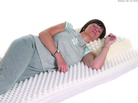 Ripple Mattress Topper - Single (Foam only, no cover)