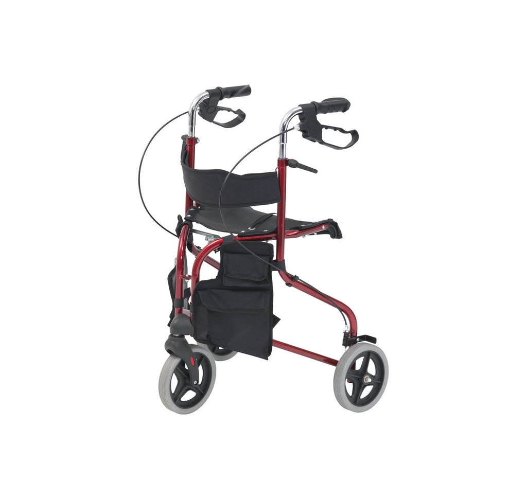 3 Wheeled Rollator with Seat