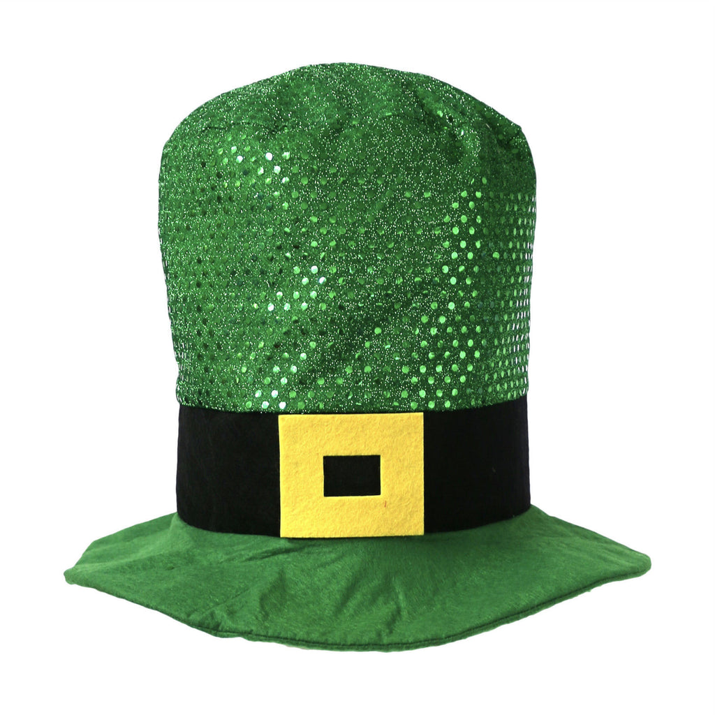 Green Sequin Leprechaun Hat