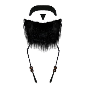 Caribbean Pirate Beard (Black)
