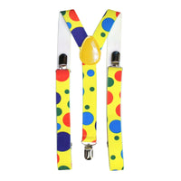 Polka Dot Clown Braces