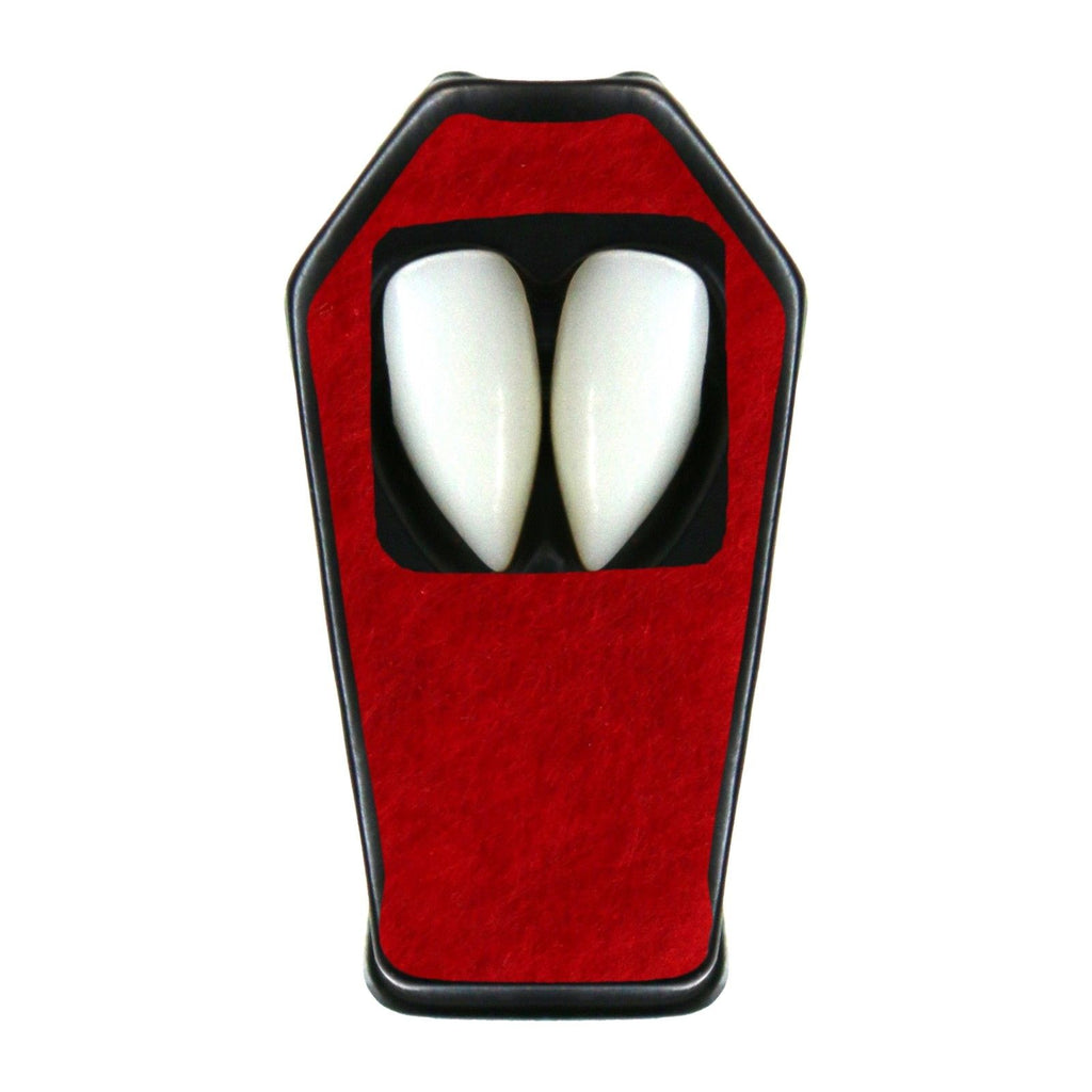 Vampire Dracula Fangs With Putty