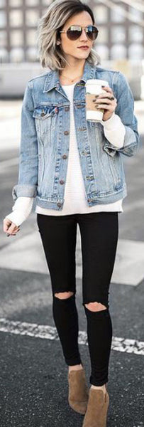 Edgy Fall Back to School Outfits Ideas for Teens for College 2018 Cute Casual Fashion -ideas para el regreso a la escuela - www.GlamantiBeauty.com #outfits