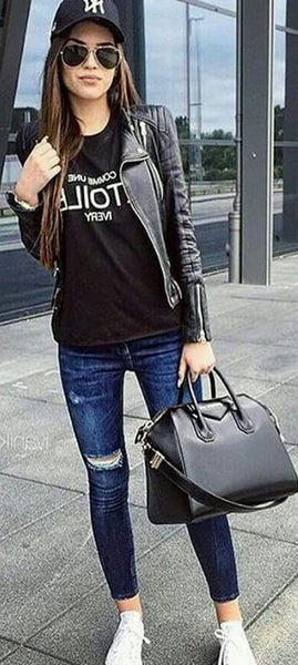 Grunge Fall Back to School Outfits Ideas for Teens for College 2018 Cute Casual Fashion -ideas para el regreso a la escuela - www.GlamantiBeauty.com #outfits