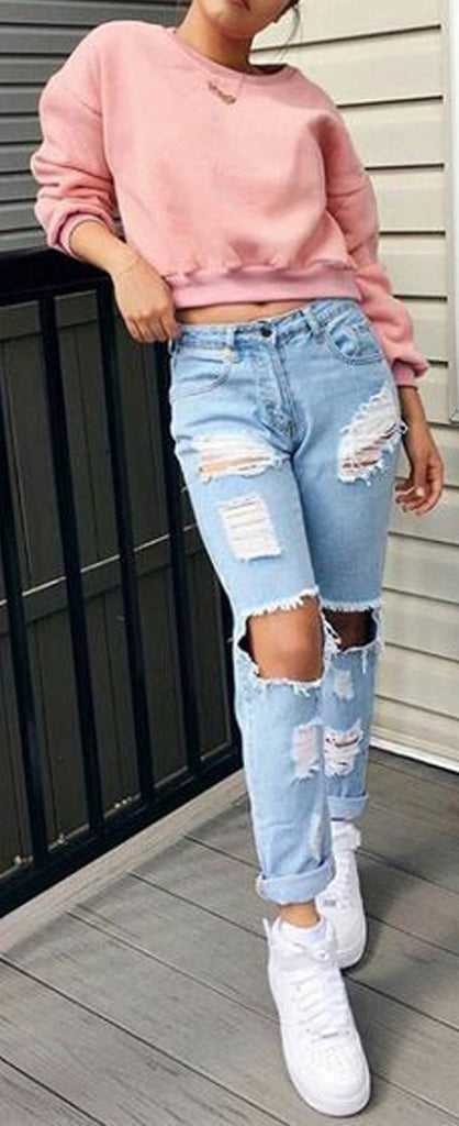 Cute Casual Back to School Outfits Ideas for Teens for College 2018 Casual Fashion -ideas para el regreso a la escuela - www.GlamantiBeauty.com #outfits