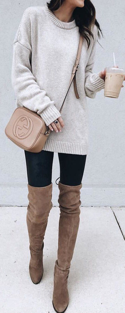 23 Cute Winter Outfits For College/High School Girls |Cute Winter Outfits For High School
