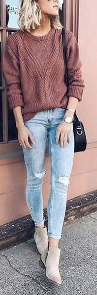 Comfy Fall Back to School Outfits Ideas for Teens for College 2018 Cute Casual Fashion -ideas para el regreso a la escuela - www.GlamantiBeauty.com #outfits