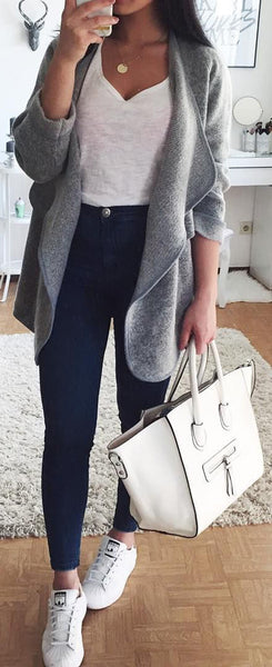 Cute Fall Preppy Back to School Outfits Ideas for Teens for College 2018 Casual Fashion -ideas para el regreso a la escuela - www.GlamantiBeauty.com #outfits