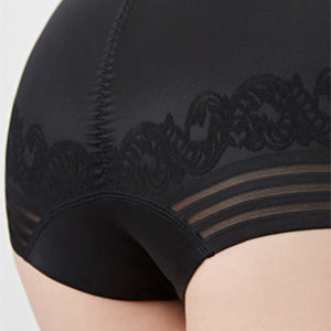 Tammy Seamless Shorts One Piece Tummy Shapewear in Black or Nude