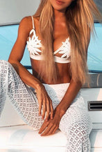 Cute Daisy Triangle Bikini for Teens  - Modest Mesh Two Piece Cheeky Bikinis in White Black Yellow for Juniors for Women for Small Chest - traje de baño lindo margarita para adolescentes - www.GlamantiBeauty.com #swimwear