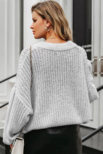 Comfy Casual Cute Fall Outfit Ideas for Women - Oversized Cropped Sweater Pullover Top - ideas lindas para mujeres - www.GlamantiBeauty.com