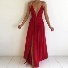 Elegant Formal Red Long Prom Dresses Outfit Ideas for Teens - Simple Modest Backless White Strappy Chiffon Maxi Dress Cheap 2018 for Homecoming for Graduation - elegantes vestidos de fiesta largos formales Ideas de vestimenta para adolescentes - www.GlamantiBeauty.com