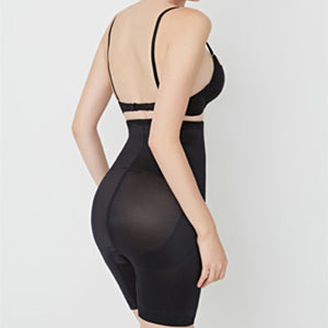 Sofia Seamless Shorts One Piece Tummy Shapewear in Black or Nude