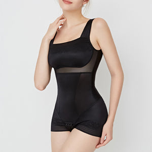 Lani Seamless Bodysuit Shorts One Piece Shapewear in Black or Nude