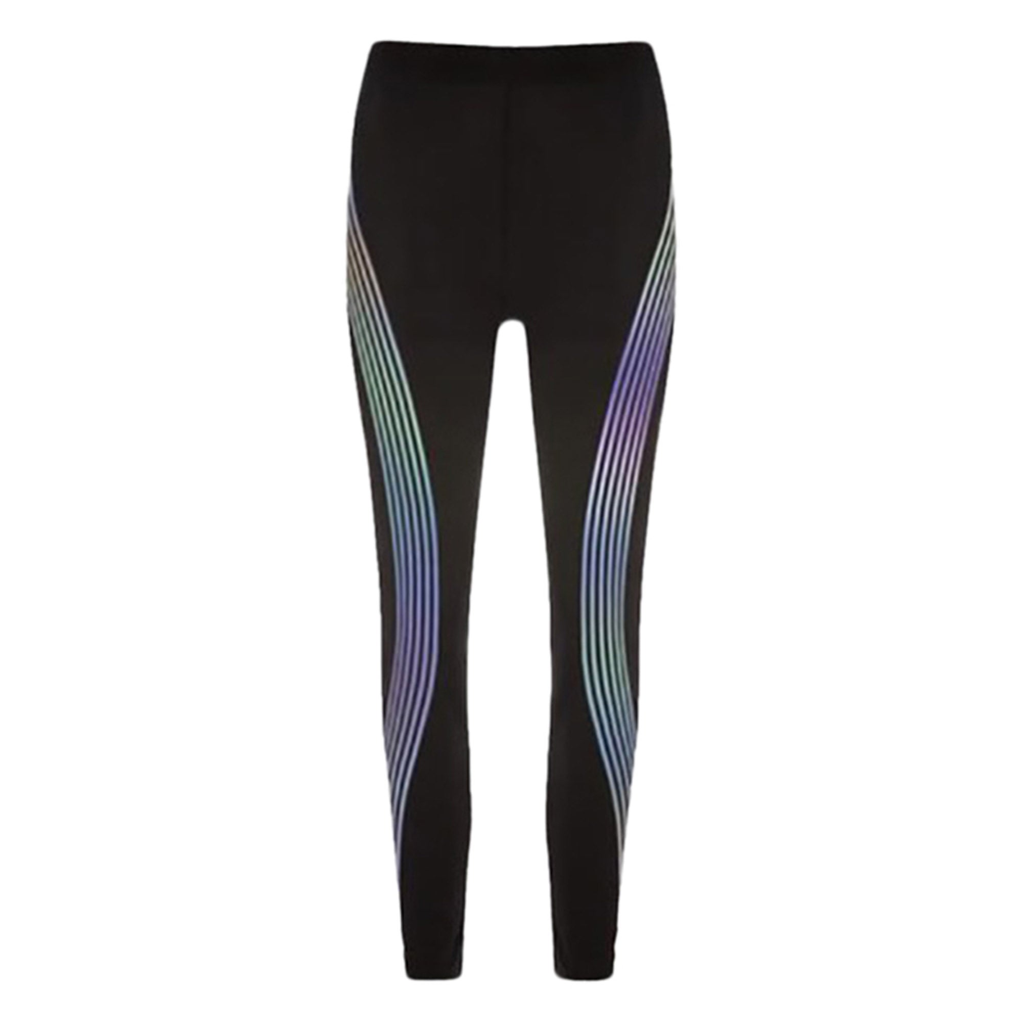 f9c2048581f35 ... Workout Outfit Ideas Glow in the Dark Leggings for Women for Teen Girls  in Black Cute ...