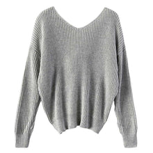 Clara Twist Knot Oversized Knit Long Sleeve Sweater