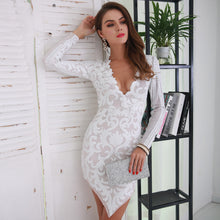 Dressy Outfit Ideas Chic Night Clubbing Cocktail Dinner Party 2018 for Women - White Mesh Floral Sequin Mini Asymmetrical Dress -  Ideas elegantes del equipo elegante para la cena del cóctel de la noche -  www.GlamantiBeauty.com