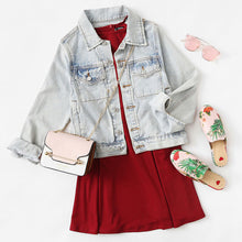Cute Casual Summer Short Dress Outfit Ideas for Teen Girls for Teenagers School - Burgundy Scallop Halter Neck A-line Skater Fit & Flare Mini Dress - ideas de atuendo de verano corto casual lindo para niñas adolescentes - www.GlamantiBeauty.com