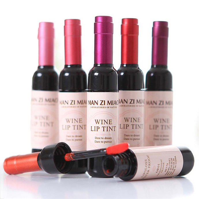 Makeup Products Wine Bottle Lip Tint Gloss - www.GlamantiBeauty.com