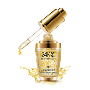 Midas 24Kt. Gold Anti-Inflammation Essence Serum - Korean Skin Care Routine - How to get beautiful skin ? - www.GlamantiBeauty.com