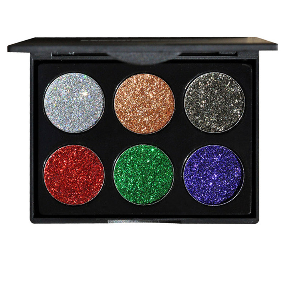 Starlight Rainbow Pressed Glitter Eyeshadow Palette