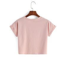 Cute Casual Summer Back to School Outfit Ideas for Teens for Women 2018 - Morning Mauve Crop Top T-Shirt - Ideas casuales de regreso a la escuela de verano -  www.GlamantiBeauty.com