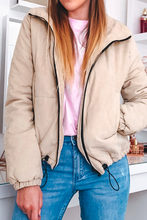 Casual Fall Outfit Ideas for Women for Teen Girls for College 2019 - Corduroy Cropped Puffer Jacket - ideas de ropa casual de otoño para mujeres - www.GlamantiBeauty.com