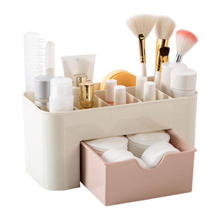 Drawer Makeup Toiletries Cosmetics Home Organizer - www.GlamantiBeauty.com