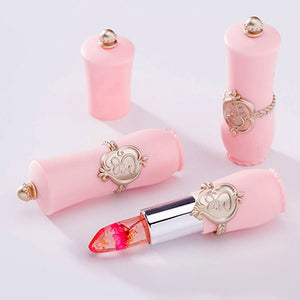 Best Flower in Lipstick Natural Pink Lip Balm Tiny Makeup Products Ideas - www.GlamantiBeauty.com