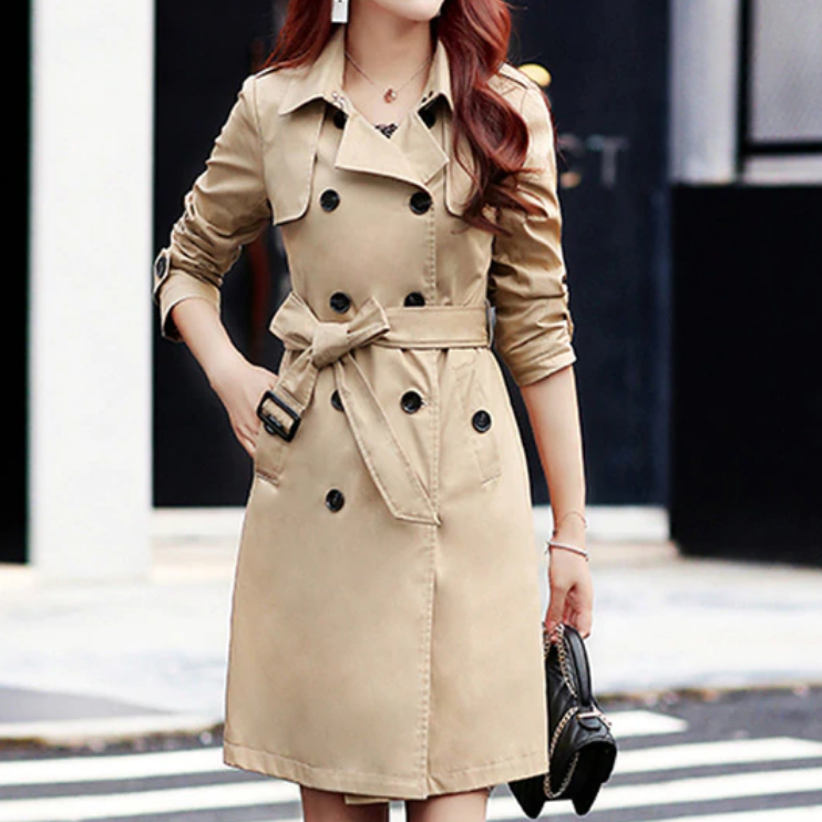 Cute Trending Trench Coat Fall Outfit Ideas for Women - Ideas lindas del equipo de otoño de la gabardina de tendencia para las mujeres -www.GlamantiBeauty.com #outfits