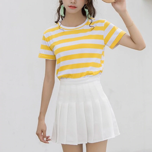 Pleated Tennis Skirt Cute Summer Outfit Ideas for Women for Teen Girls 2020 - www.GlamantiBeauty.com #dresses